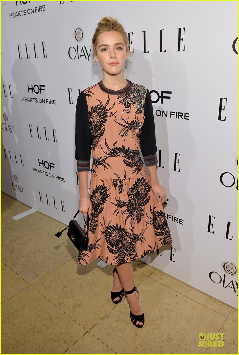 bella thorne kiernan shipka elle women in tv celebration 2014 033038285