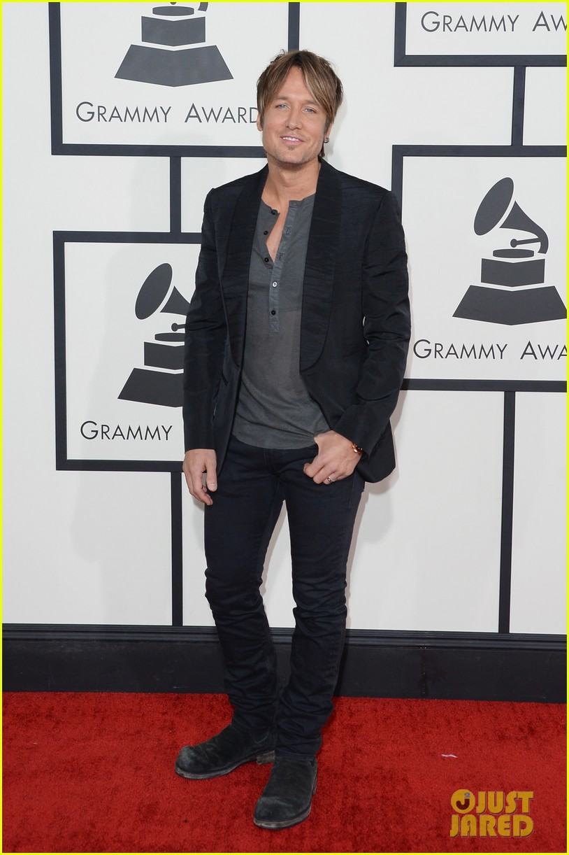 keith urban grammys 2014 red carpet 02