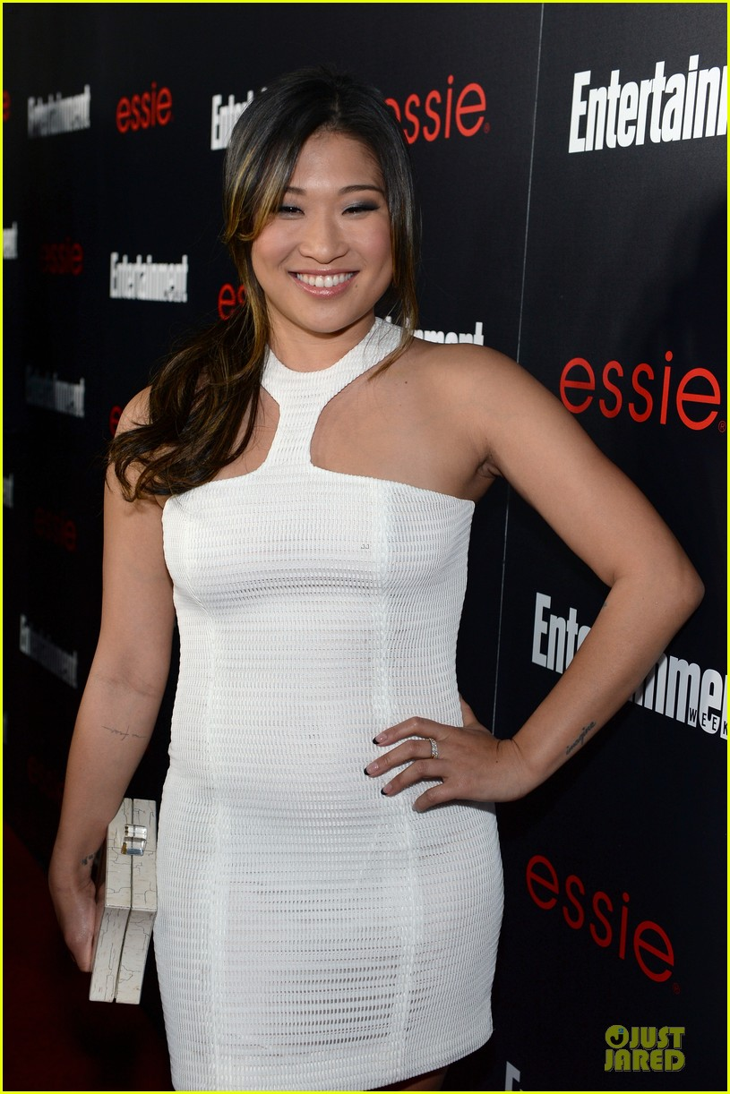 jenna ushkowitz alex newell ew sag nominees party 093034191