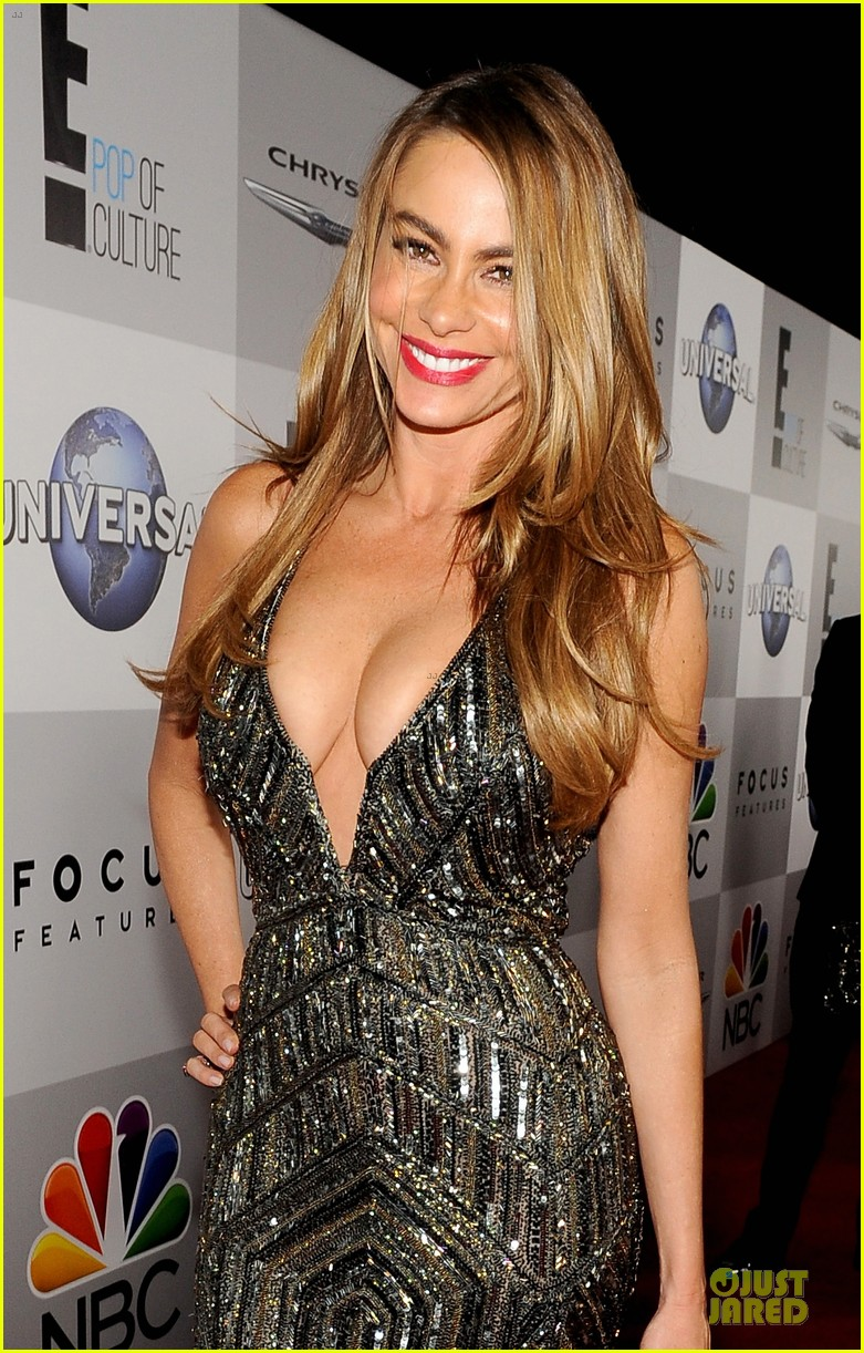 sofia vergara nbc golden globes party 2014 02