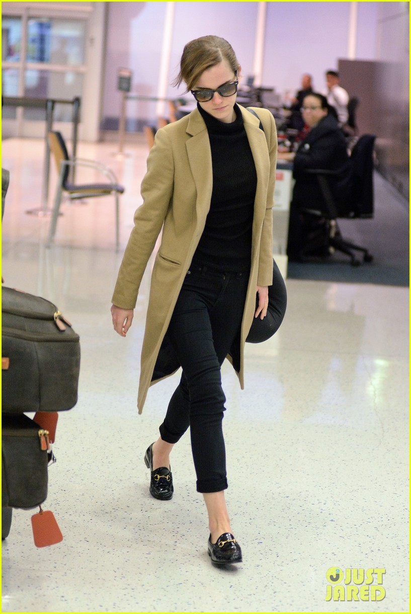 emma watson leaves new york city after quick trip 203037692
