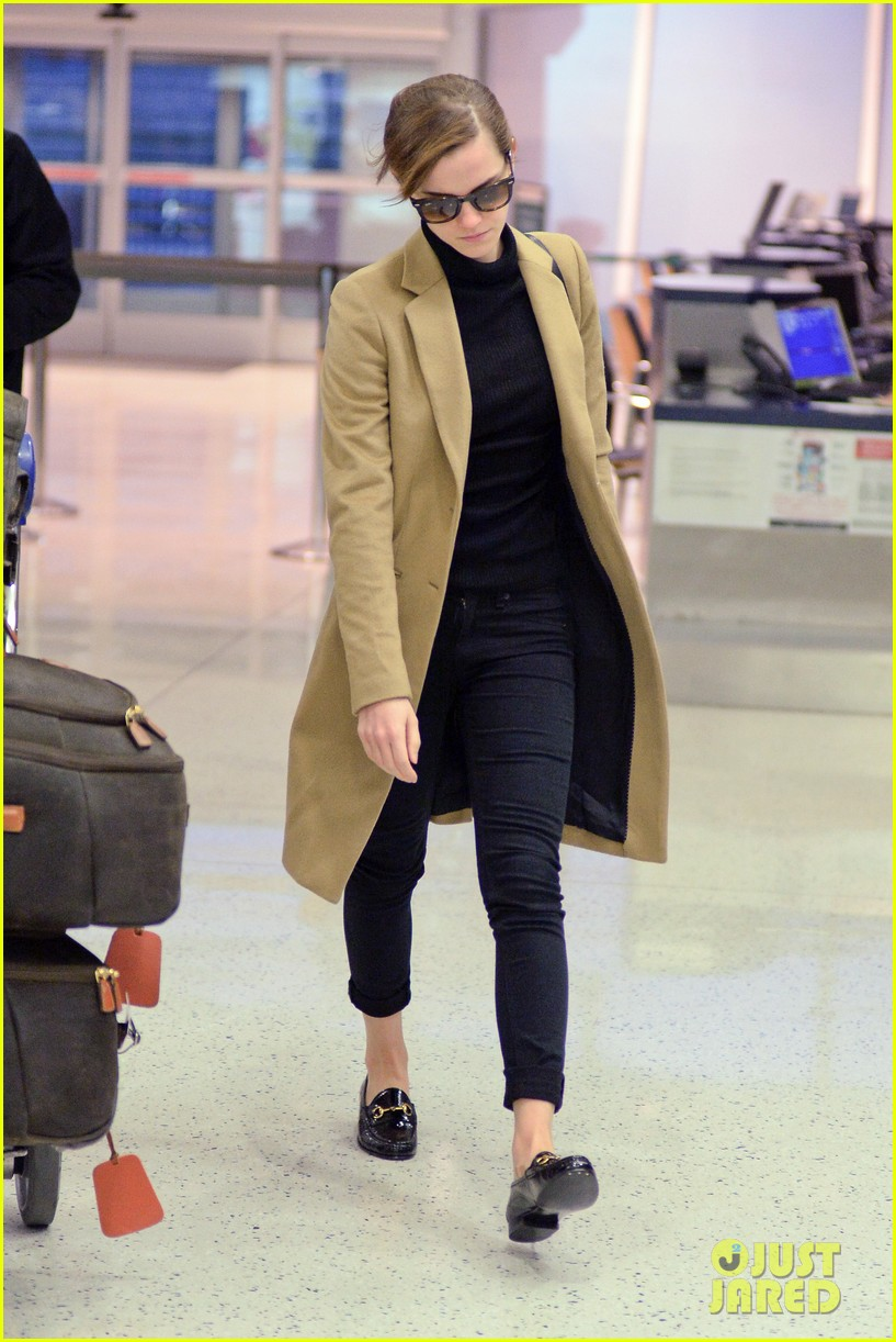 emma watson leaves new york city after quick trip 213037693