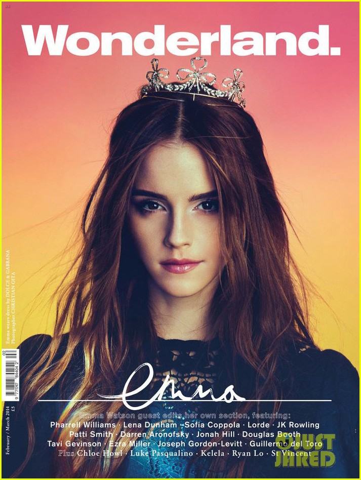 emma watson is an afro prada bruiser for wonderland mag 01