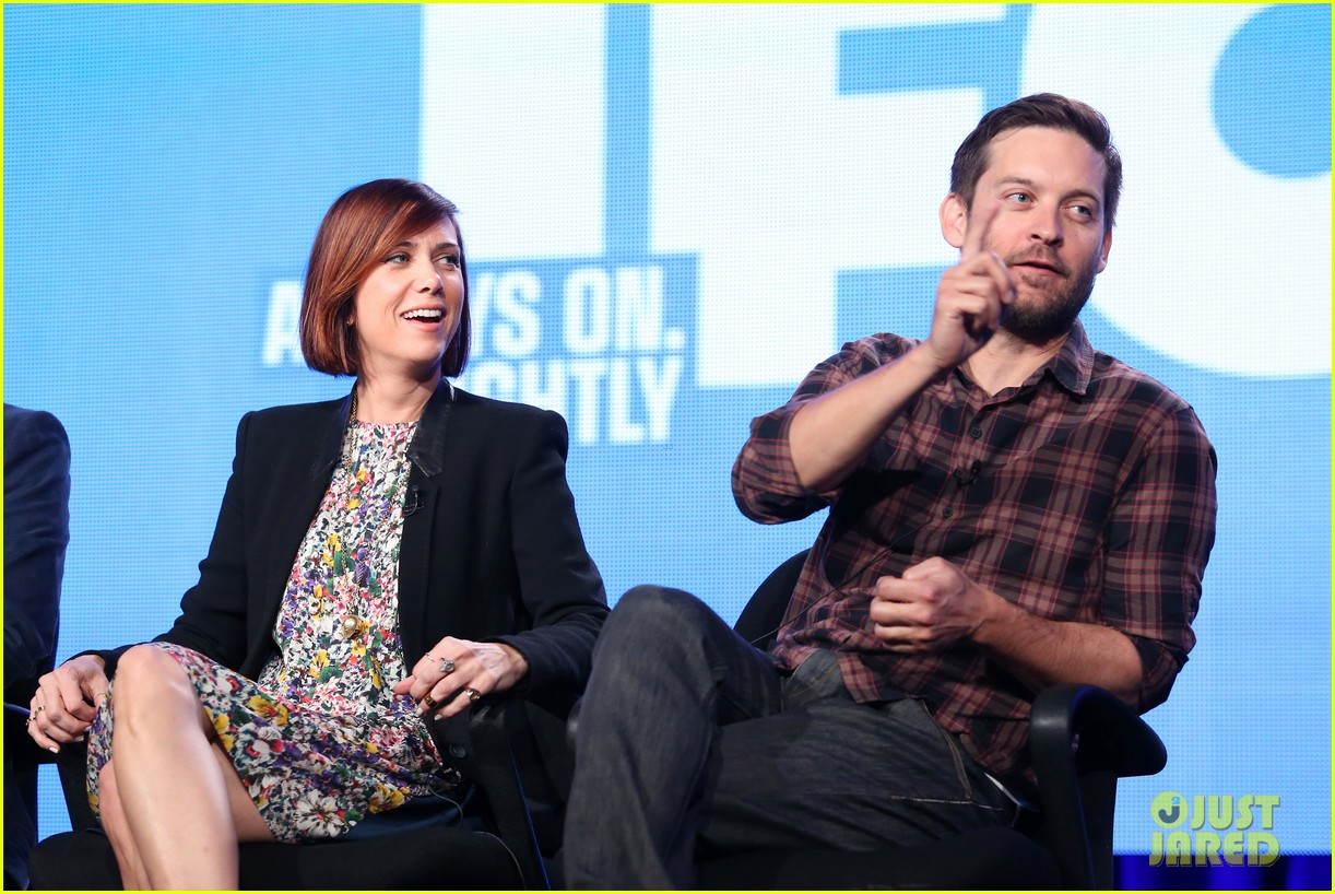 kristen wiig tobey maguire spoils of babylon tca panel 073026422