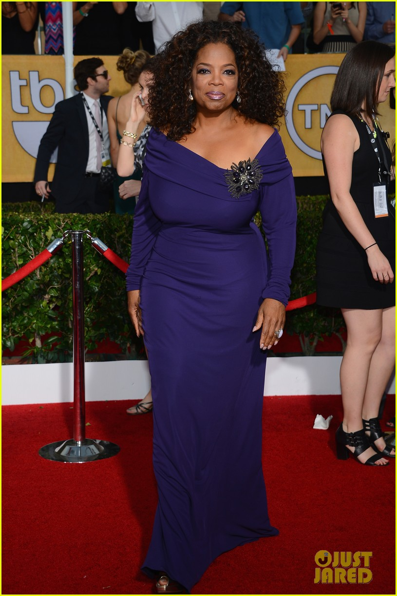oprah winfrey forest whitaker sag awards 2014 red carpet 033034827