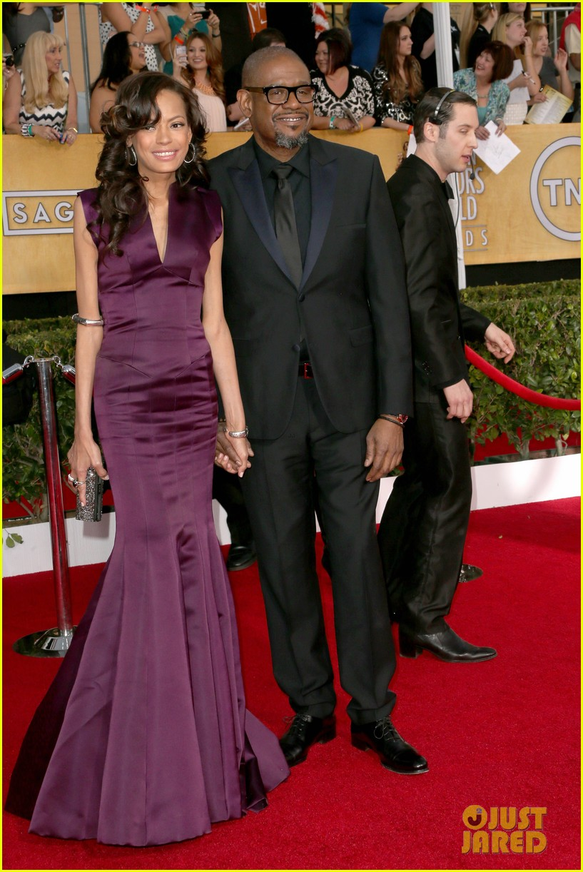 oprah winfrey forest whitaker sag awards 2014 red carpet 05