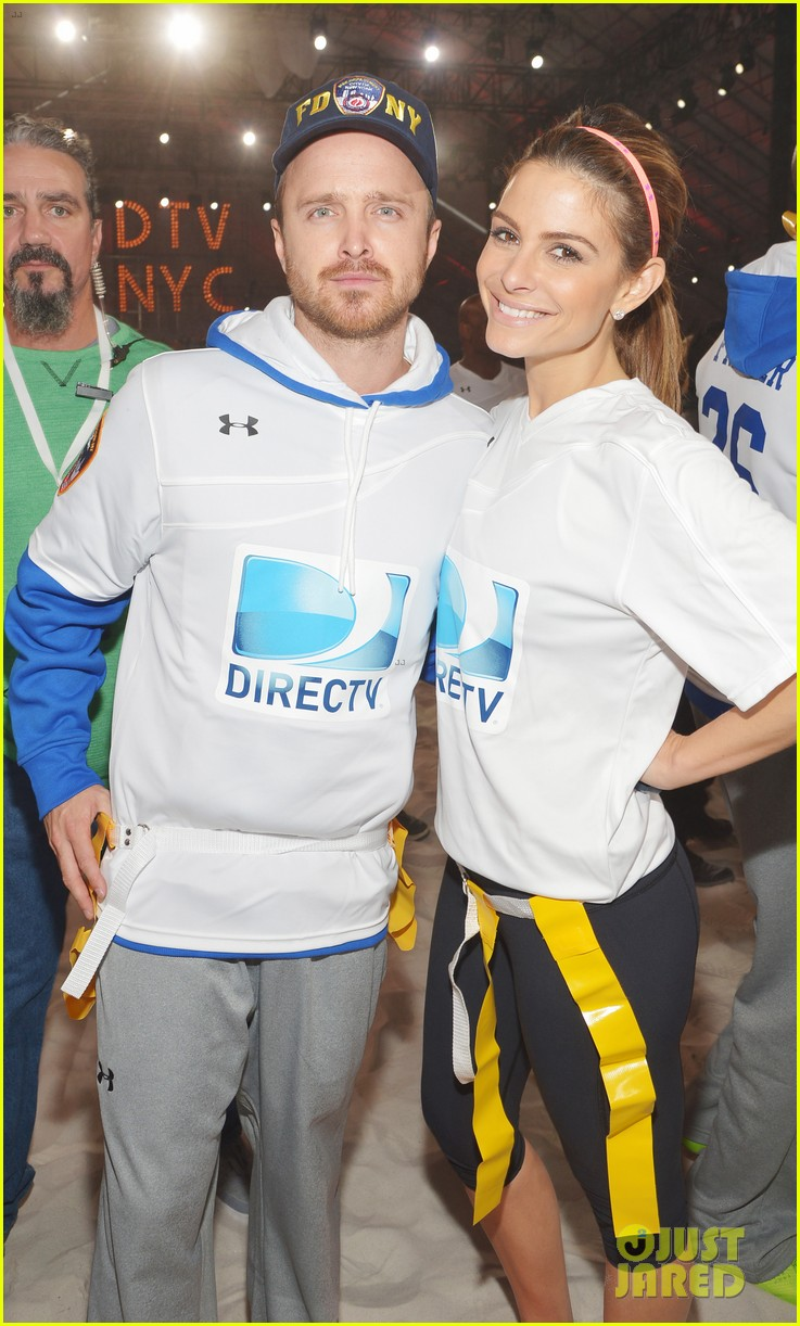 aaron paul james marsden directv beach bowl 2014 players 02