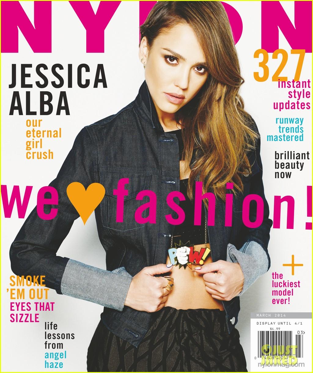 jessica alba covers nylon march 2014 01