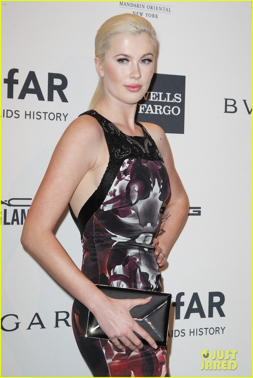 ireland baldwin chanel iman amfar gala with asap rocky 15