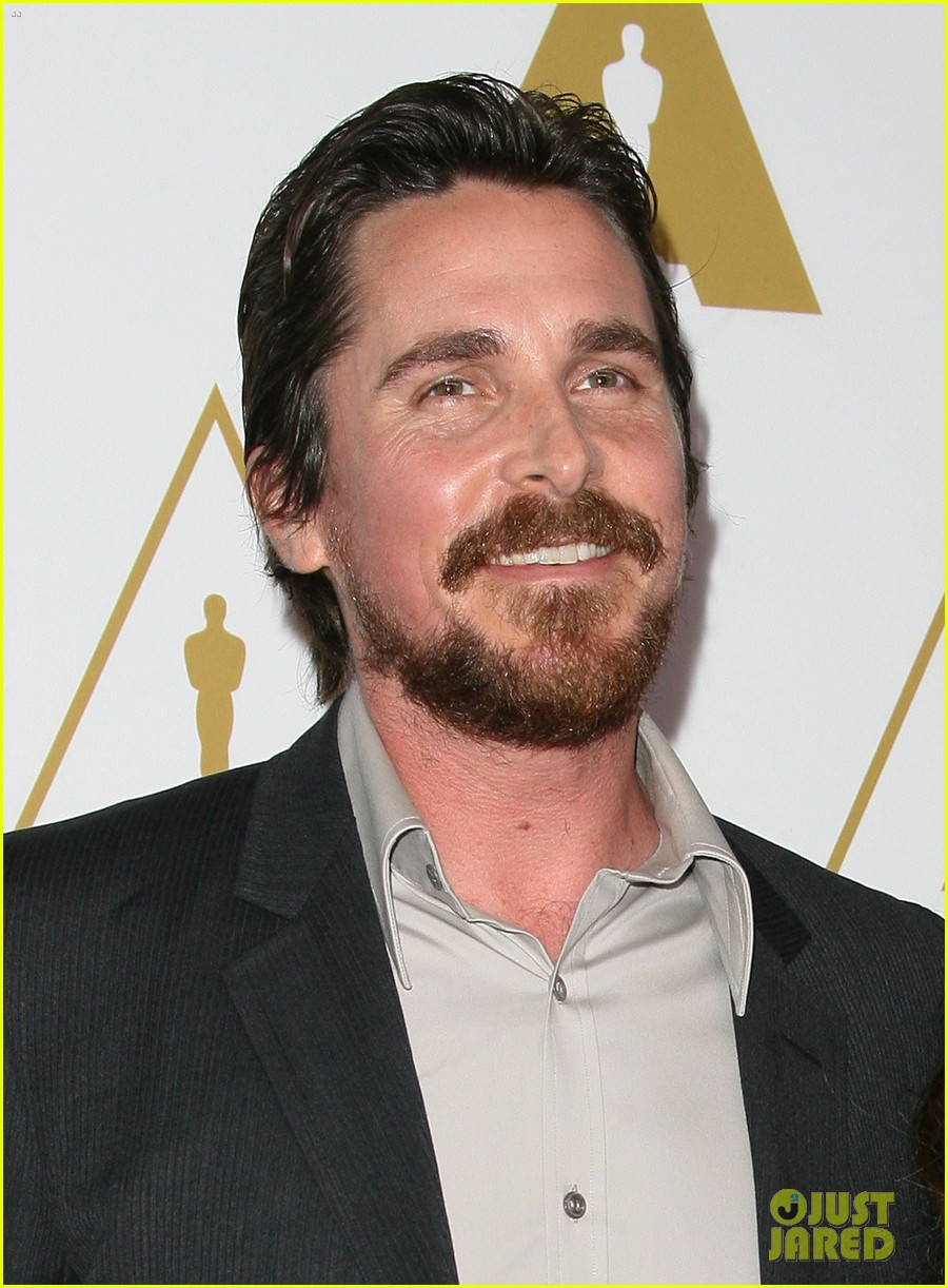 christian bale oscars nominees luncheon with wife sibi blazic 093050888