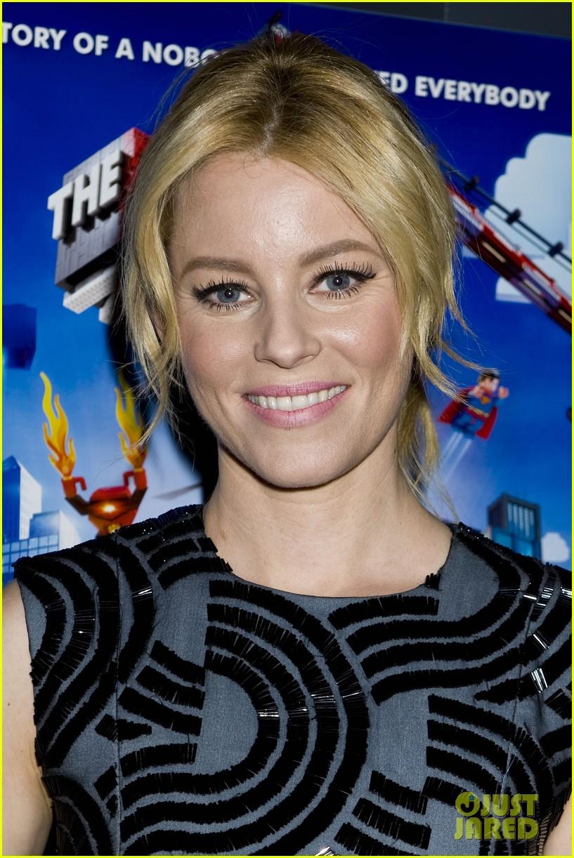 elizabeth banks chris pratt lego movie nyc screening 09
