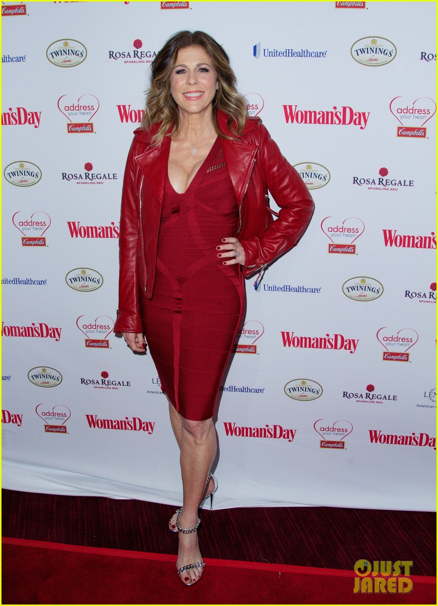 sara bareilles puts on her little red dress for womans day 063051760