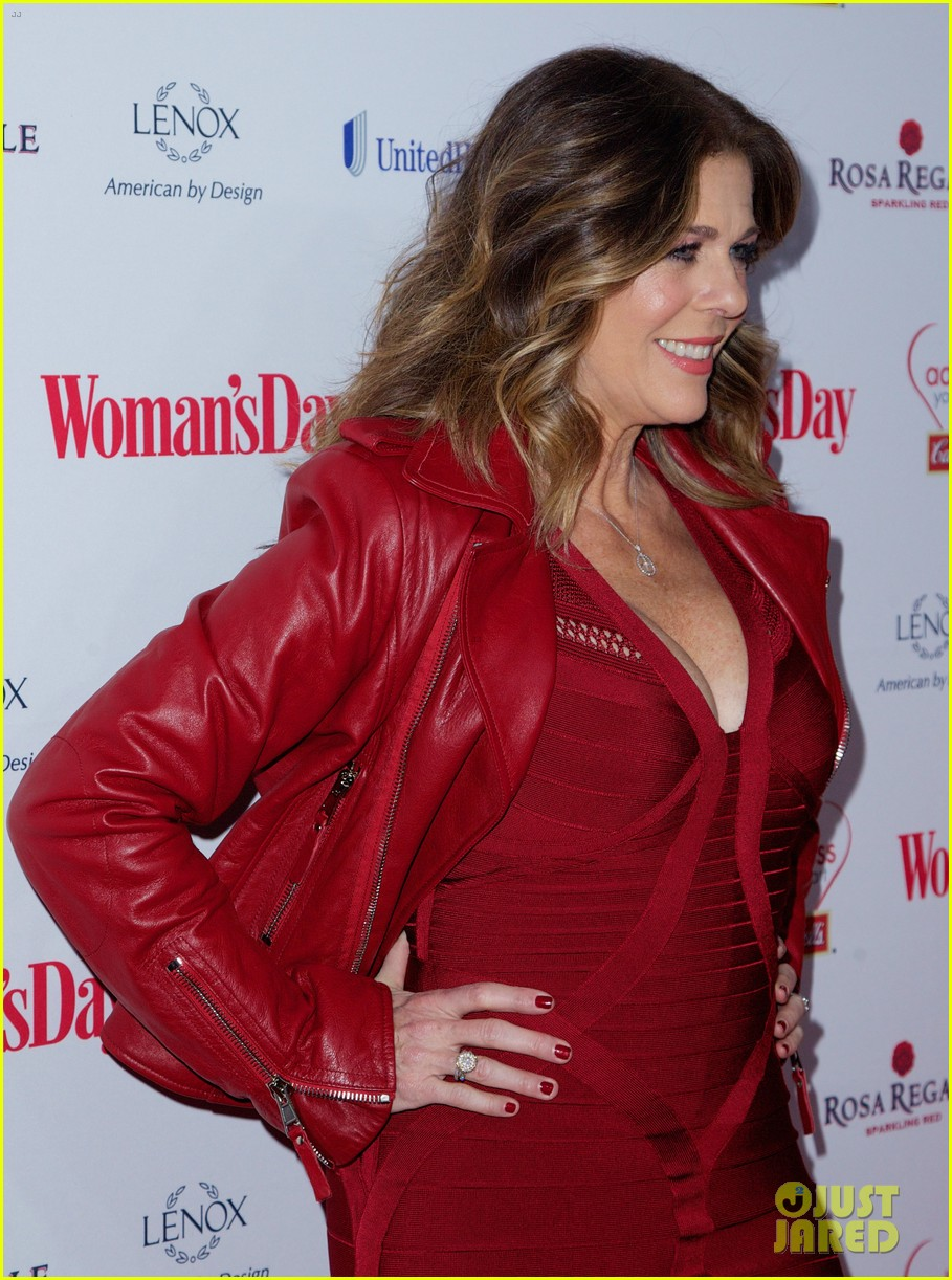 sara bareilles puts on her little red dress for womans day 09