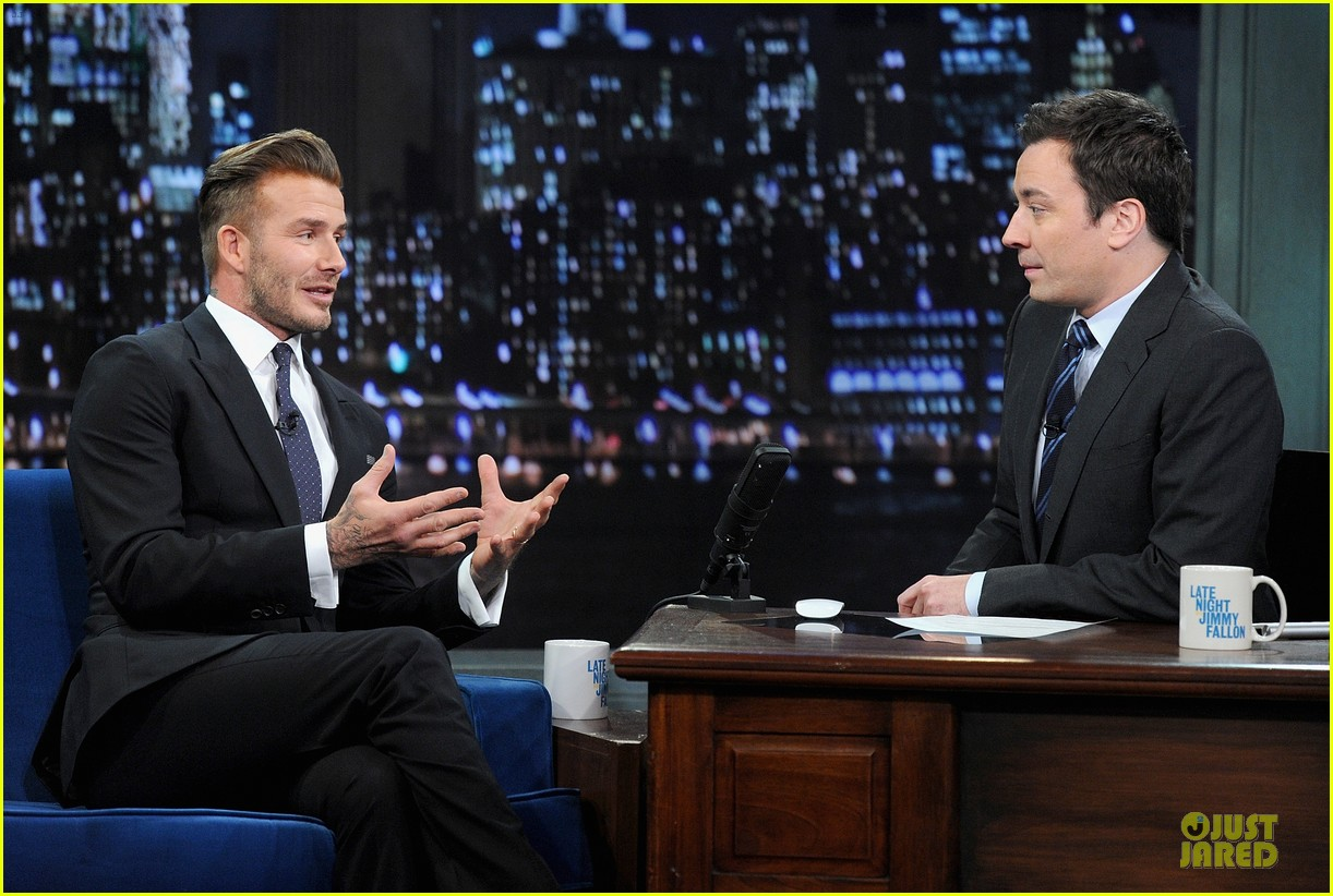 david beckham rocks yolk for egg russian roulette on fallon 20