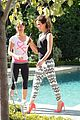 kate beckinsale gives back with yoga fundraiser pink joins in to help fight breast cancer 07
