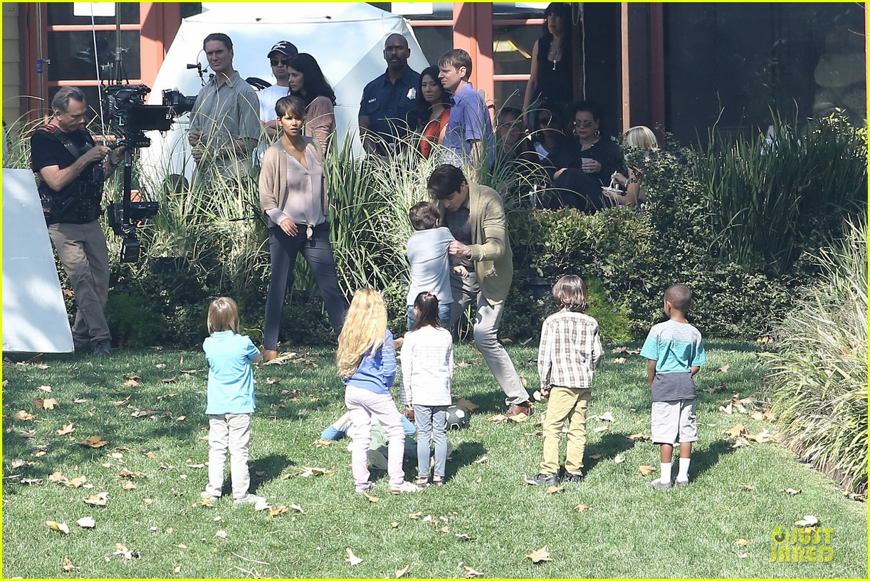 halle berry spends valentines day filming extant with goran visnjic 31