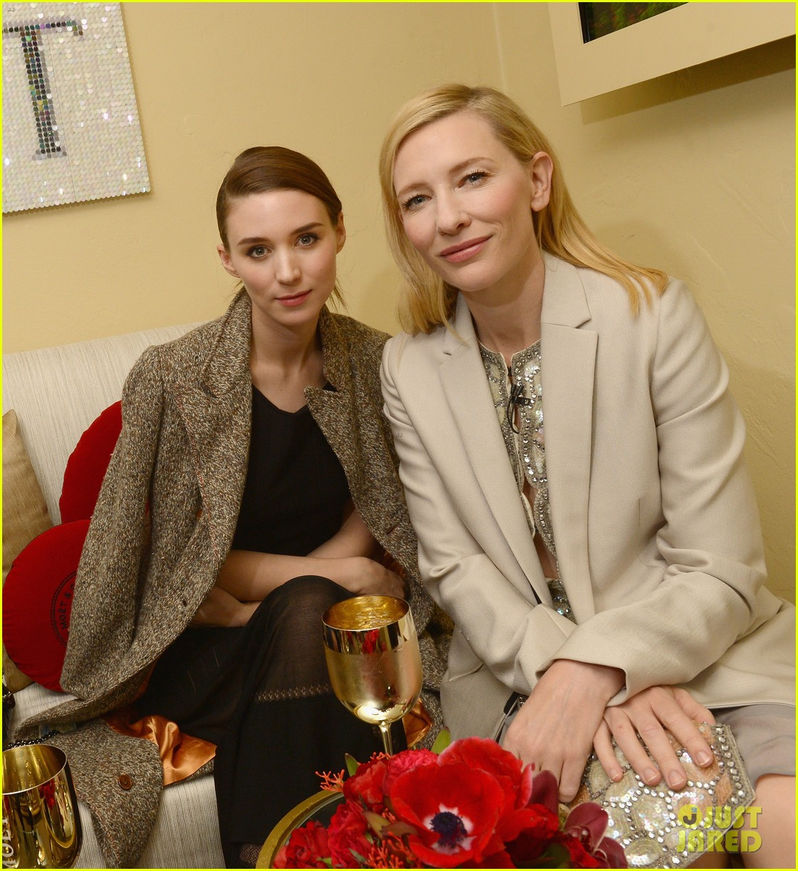 cate blanchett honored by rooney mara at santa barbara film festival 02