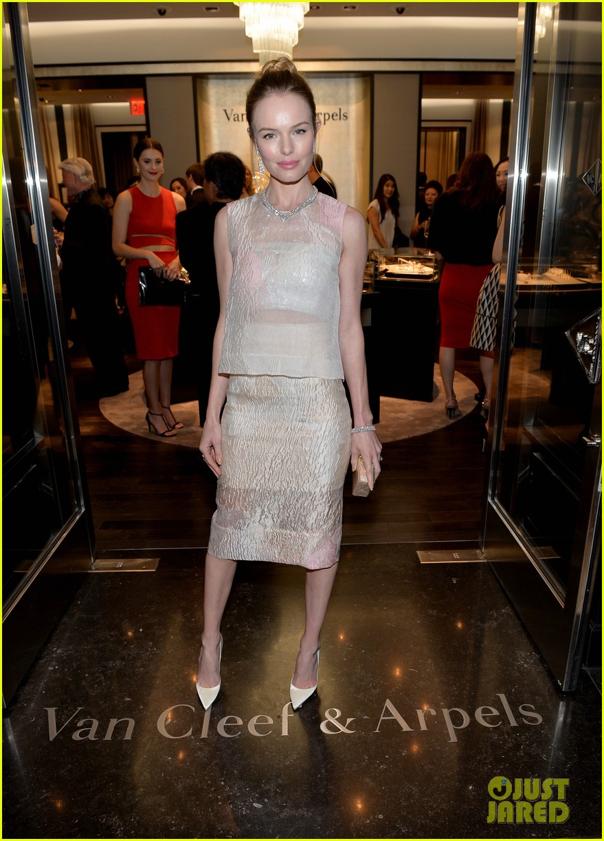 kate bosworth michael polish celebrate van cleef arpels 013049035