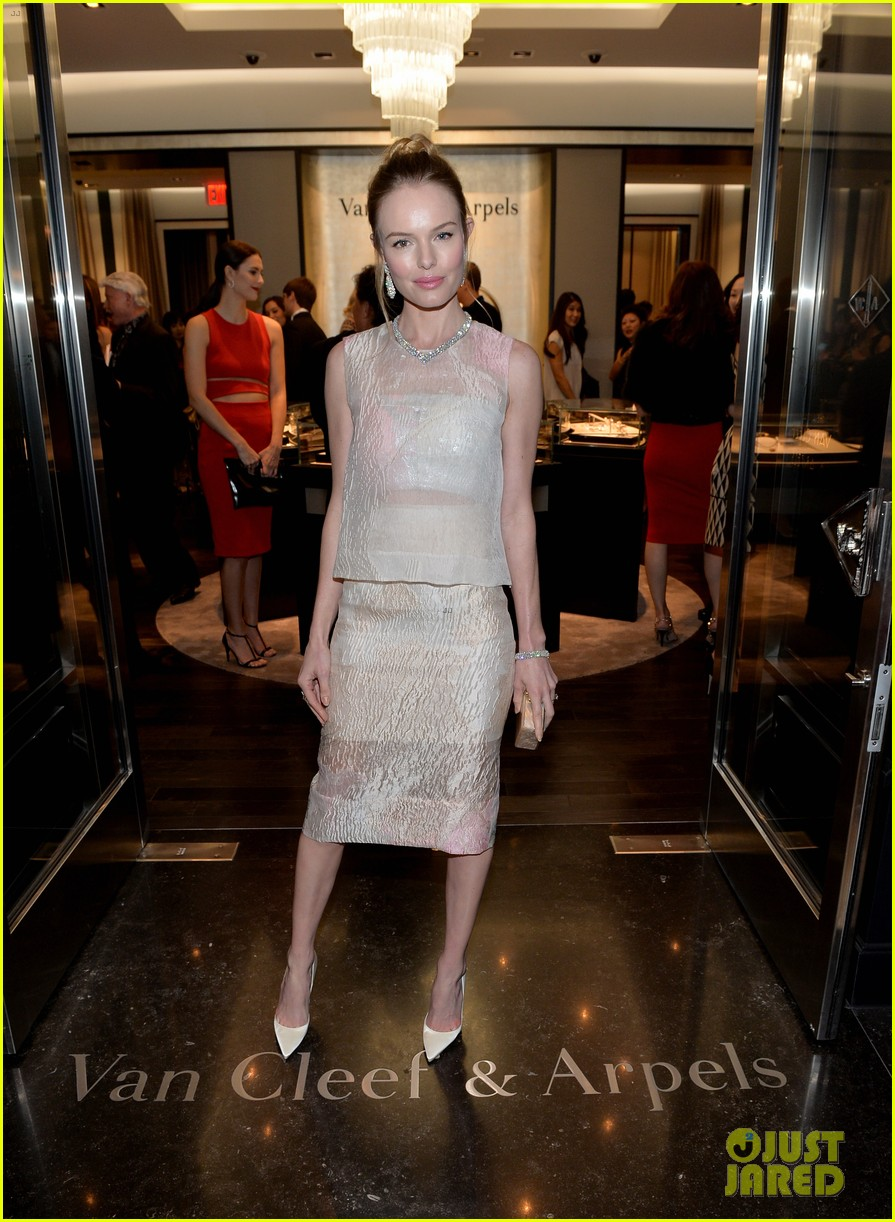 kate bosworth michael polish celebrate van cleef arpels 05