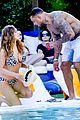 kelly brook bikini babe with macho boyfriend david mcintosh 15