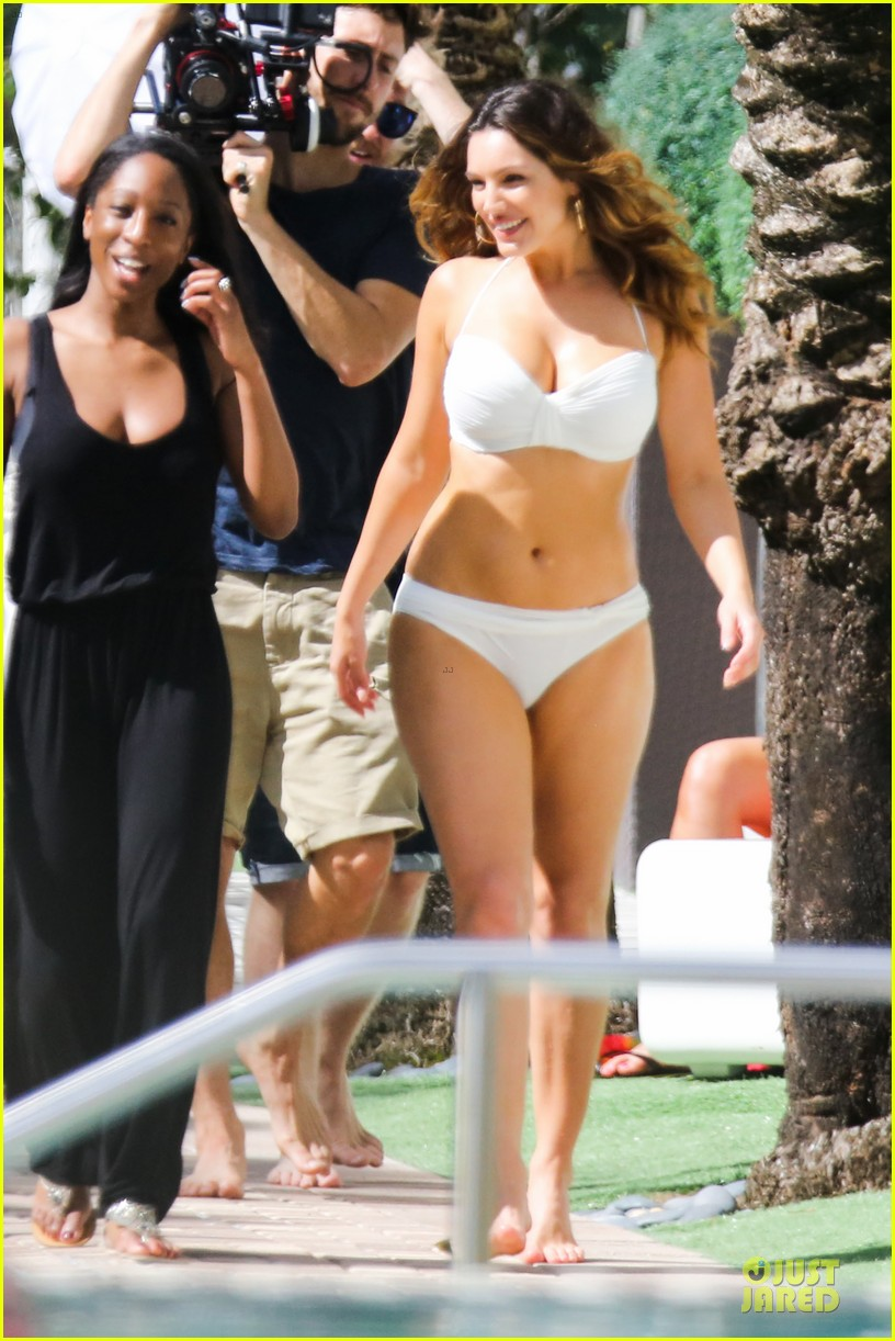 kelly brook frolicks on the beach with boyfriend david mcintosh 263047556