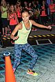 jamie chung flexes her muscles while testing reebok shoes 22