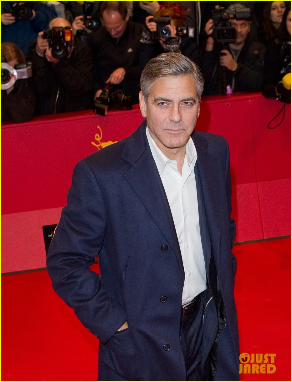 george clooney matt damon premiere monuments men at berlinale festival 103049741