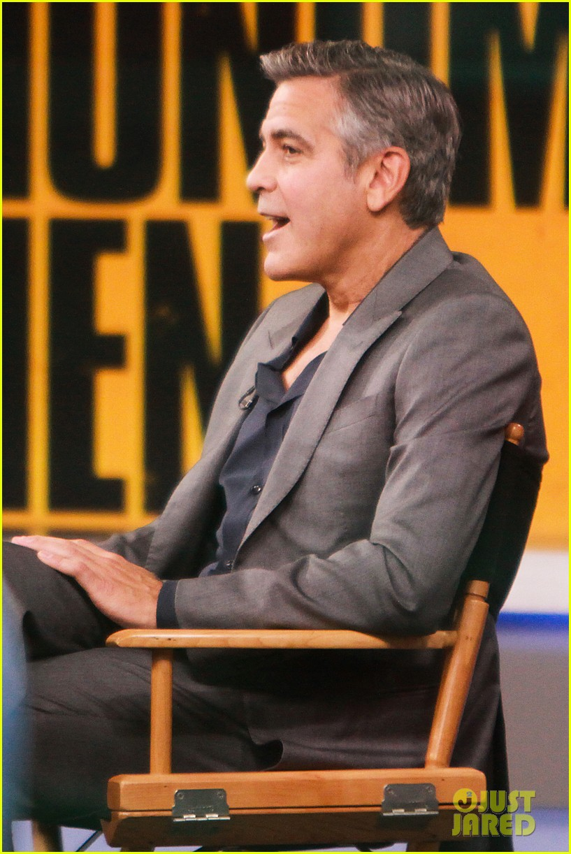 george clooney matt damon continue promoting monuments men 11