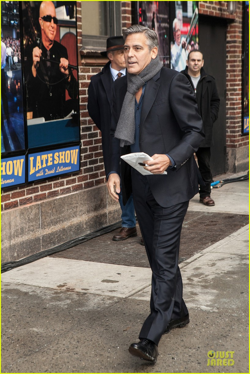 george clooney monuments men nyc premiere 133047681