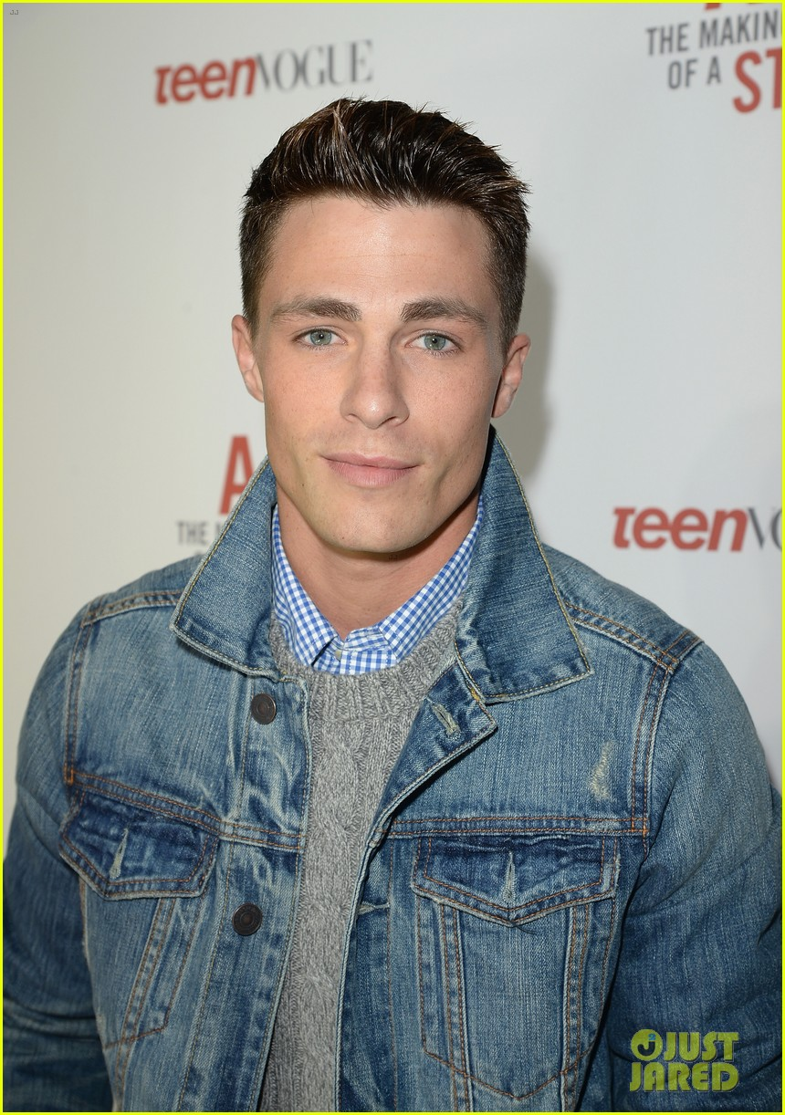 colton haynes steven r mcqueen ambercrombie fitch making of star sping 2014 campaign party 04