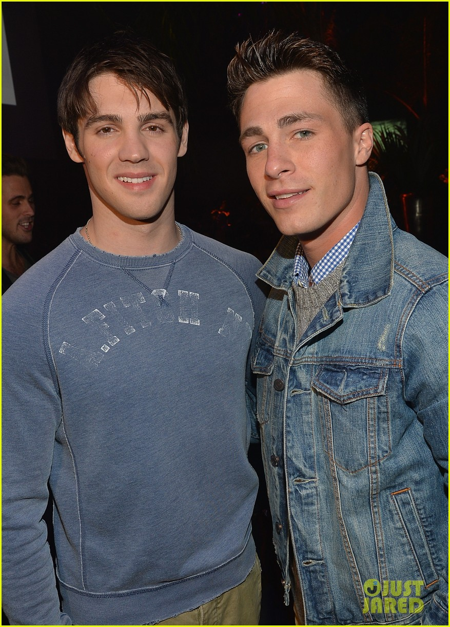 colton haynes steven r mcqueen ambercrombie fitch making of star sping 2014 campaign party 153059096
