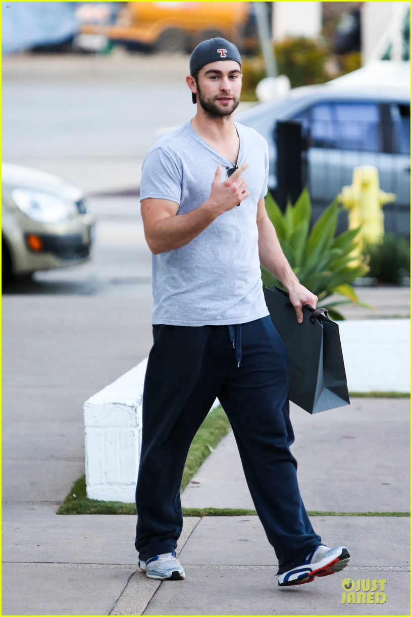 chace crawford i play dianna agron douchey boyfriend on glee 100th episode 033058410