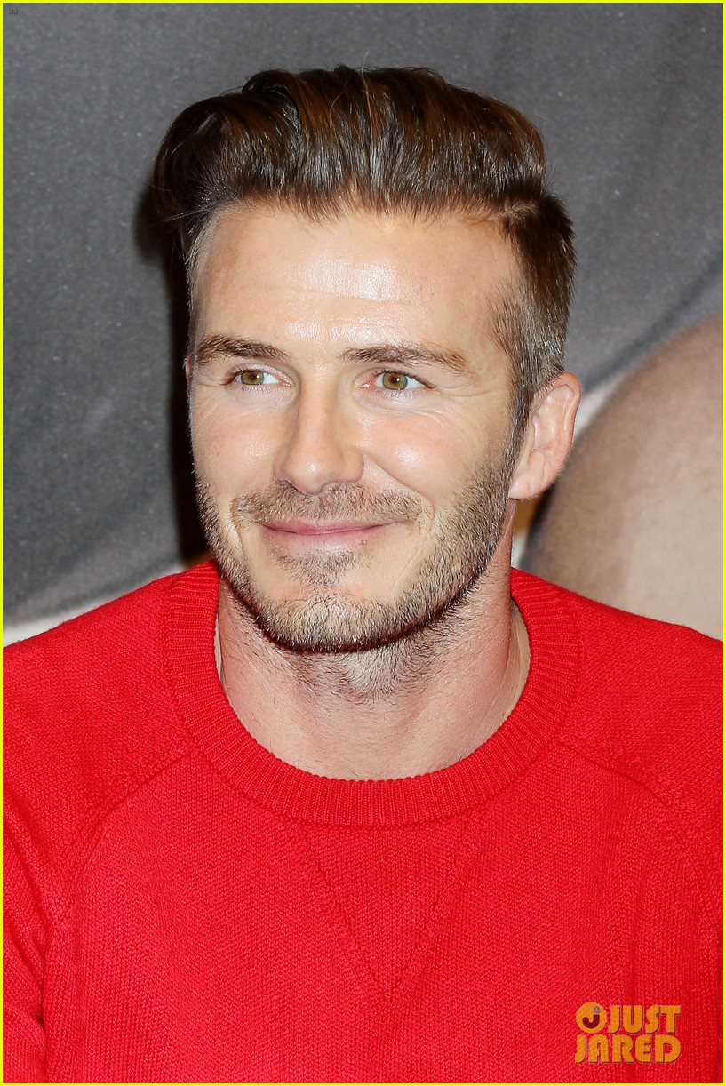 david beckham promotes hm body wear collection nyc 263045562