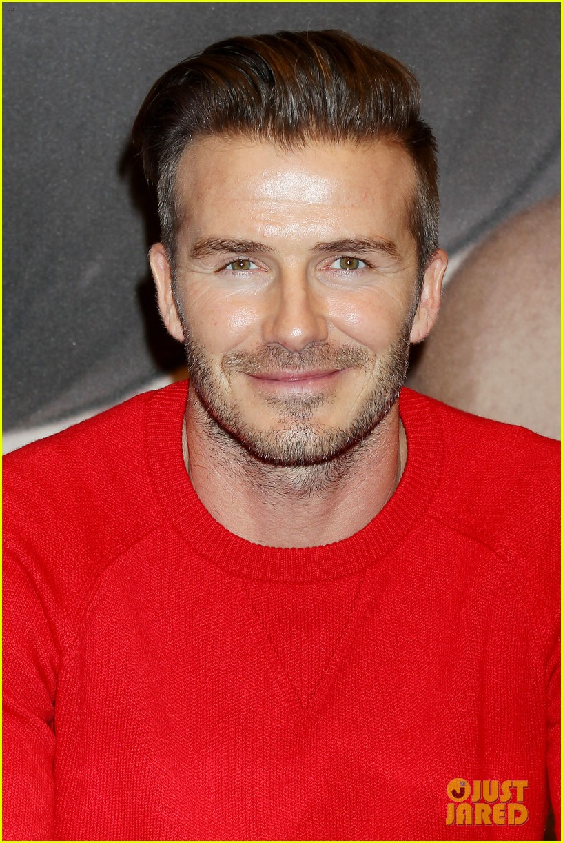 david beckham promotes hm body wear collection nyc 293045565