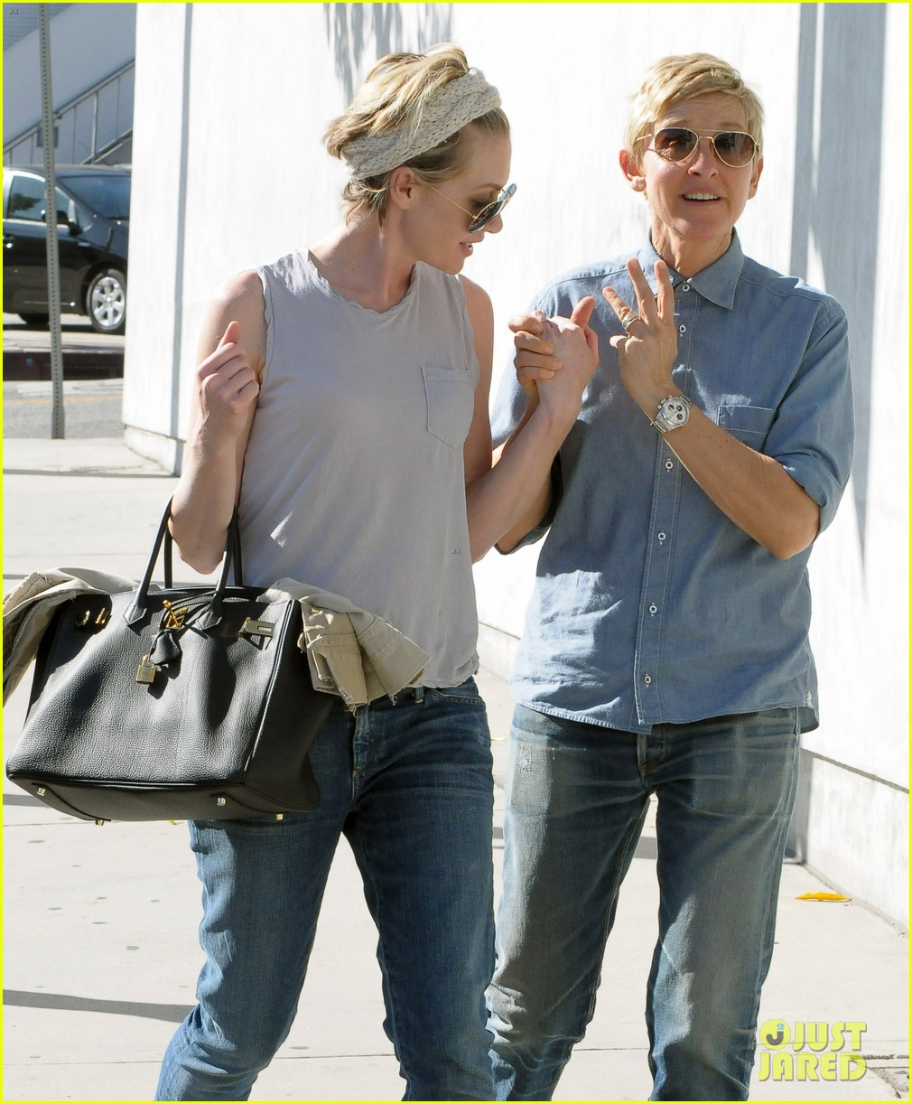 ellen degeneres portia de rossi were the cutest couple on valentines day 13
