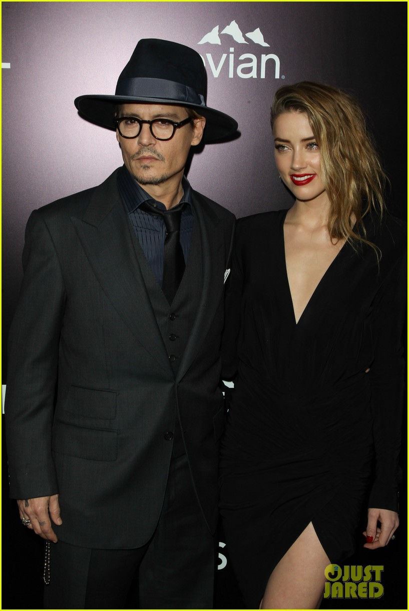 johnny depp supports amber heard at 3 days to kill premiere 11