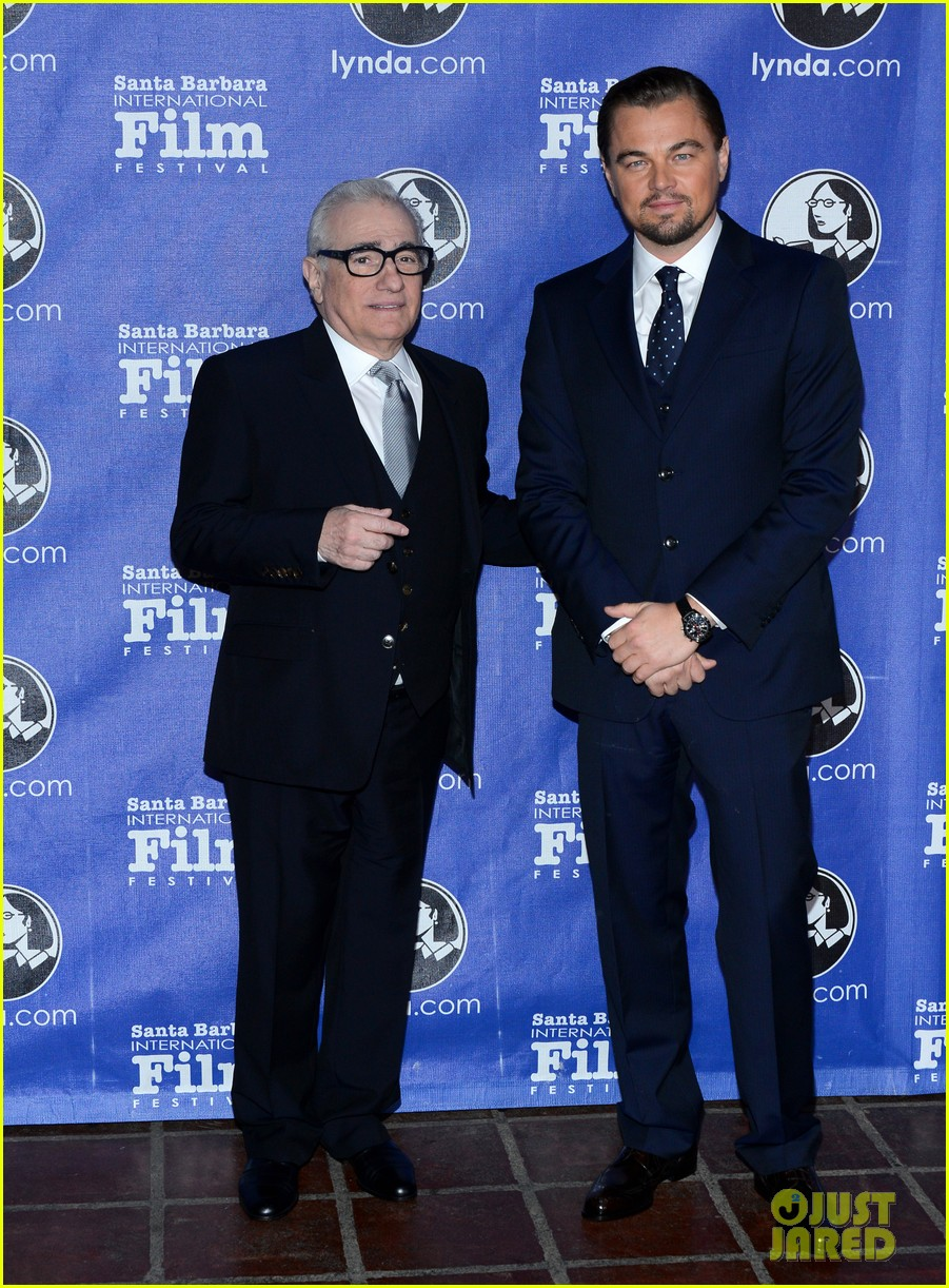 leonardo dicaprio suits up to receive cinema vanguard award 033048975