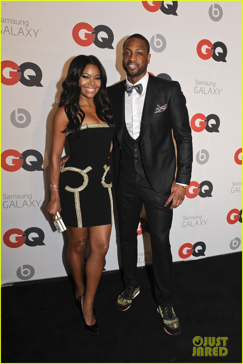 gabrielle union dwyane wade gq nba all star party with lebron james 01