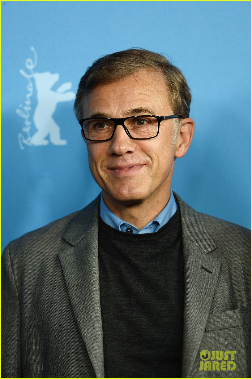 greta gerwig christoph waltz berlinale festival 2014 jury photo call 103048508