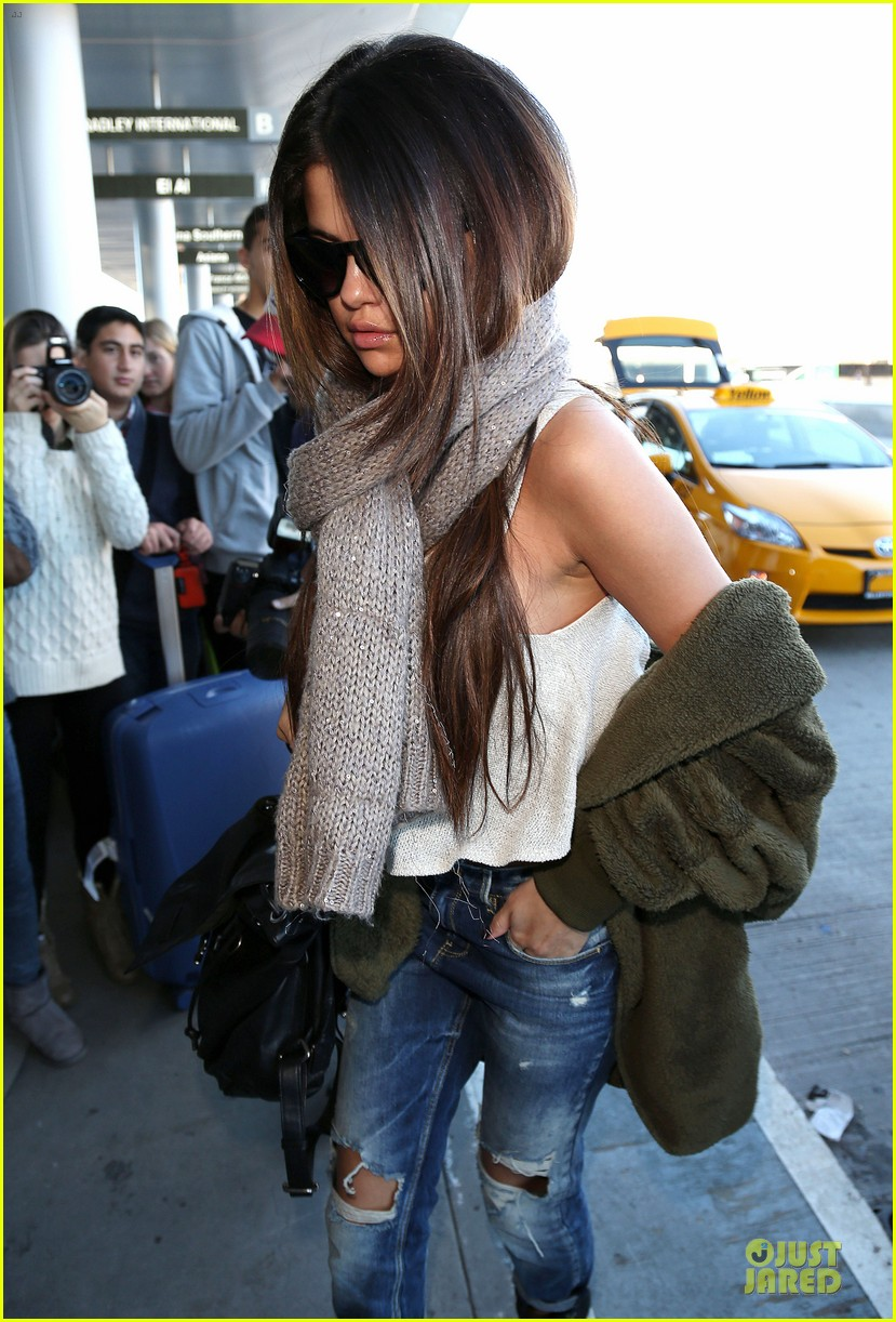 selena gomez rips it up for lax airport departure 08