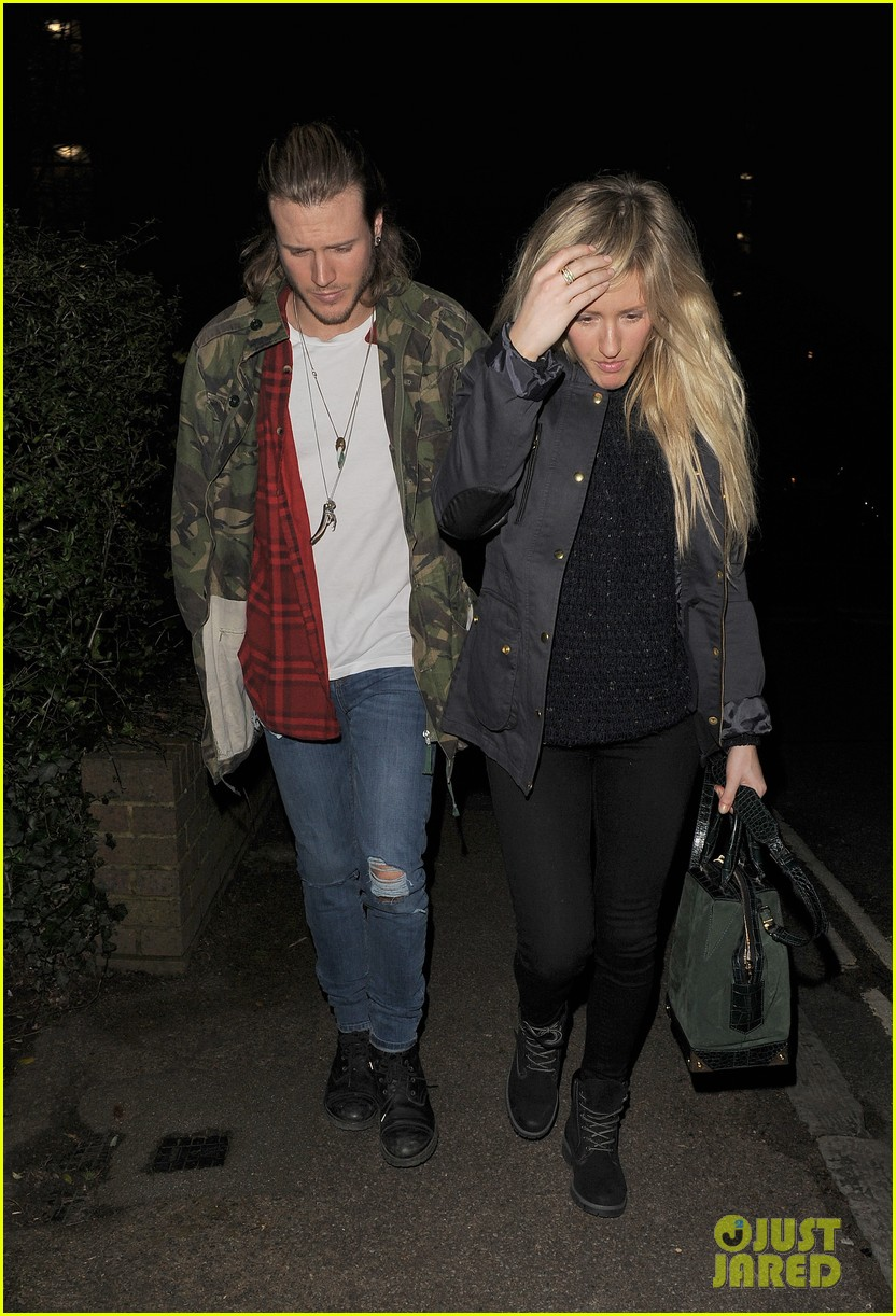 ellie goulding rumored boyfriend dougie poynter step out together 05