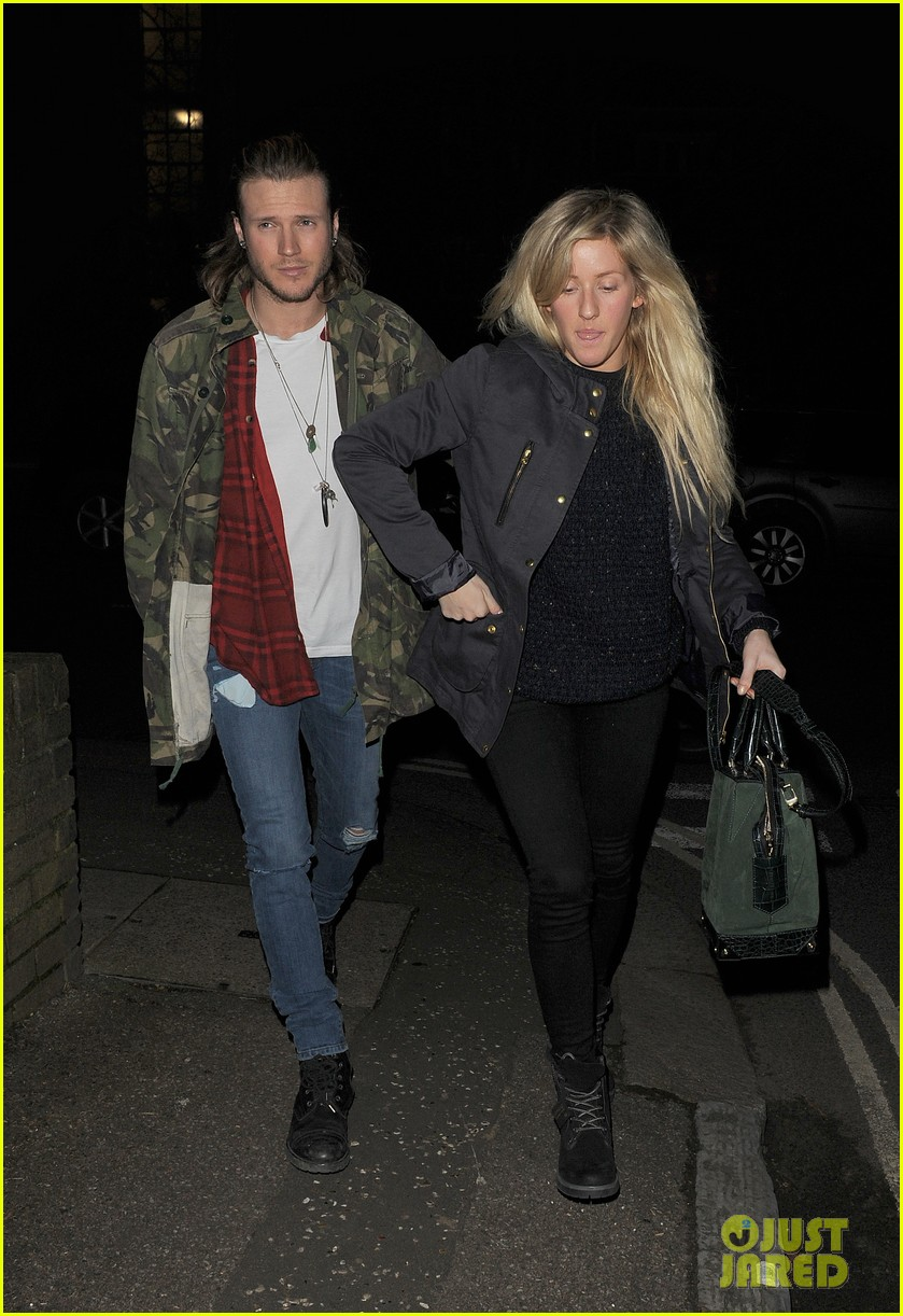 ellie goulding rumored boyfriend dougie poynter step out together 113062227