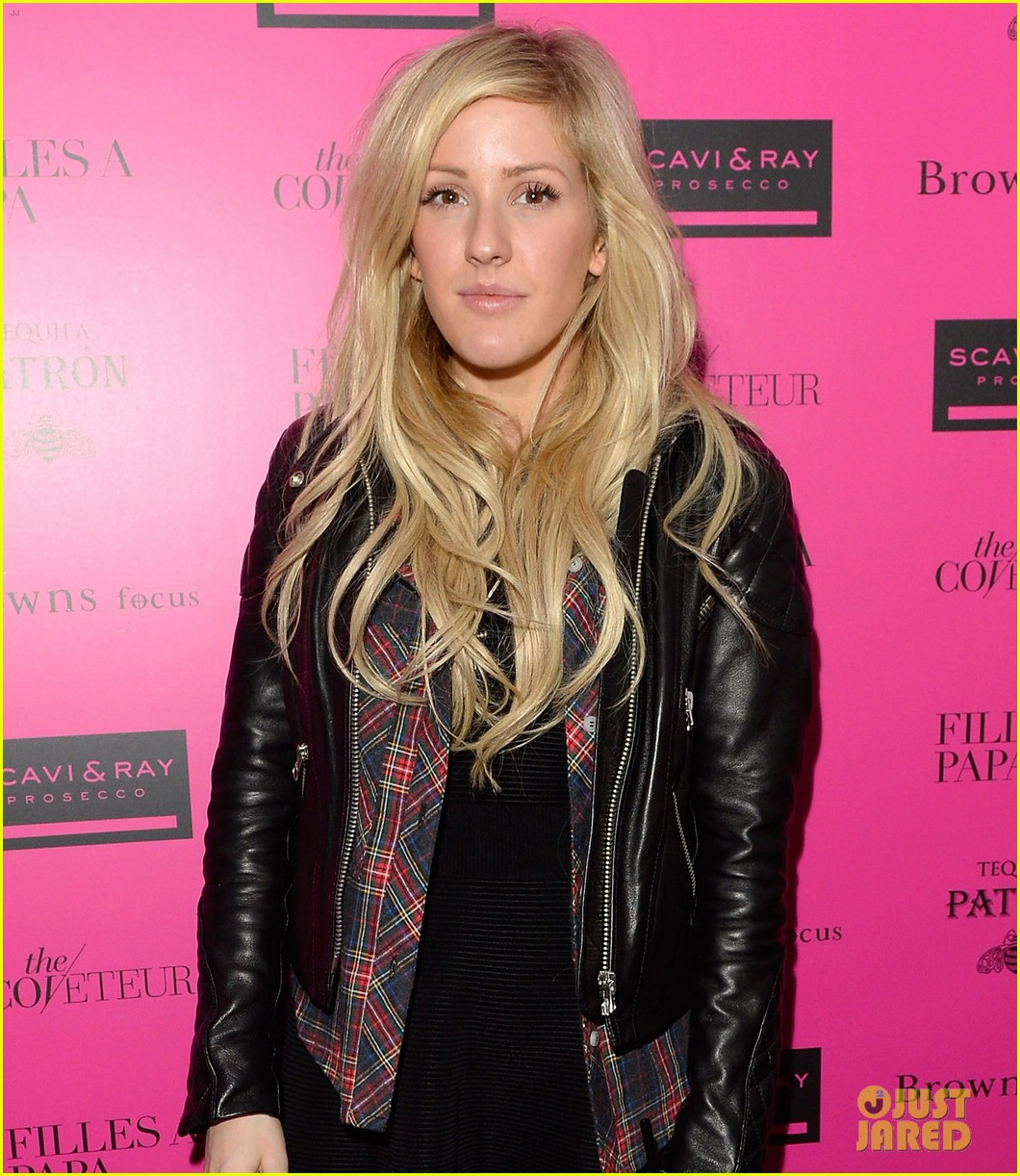 ellie goulding london fashion week party with pixie lott 05