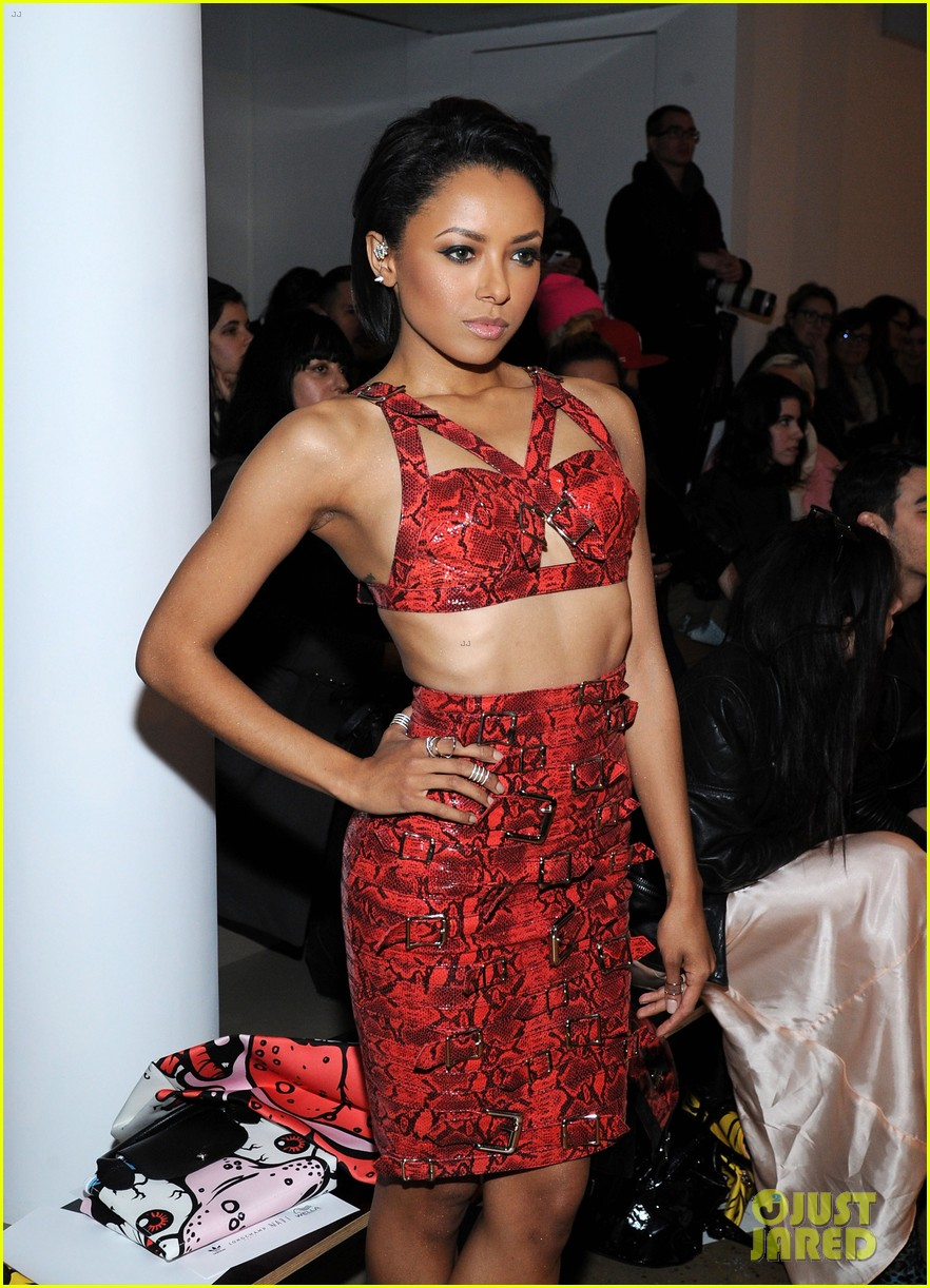 kat graham allsaints jeremy scott fashion shows 11