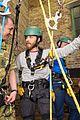tom hardy ends up in rope training course while supporting royal marines 01