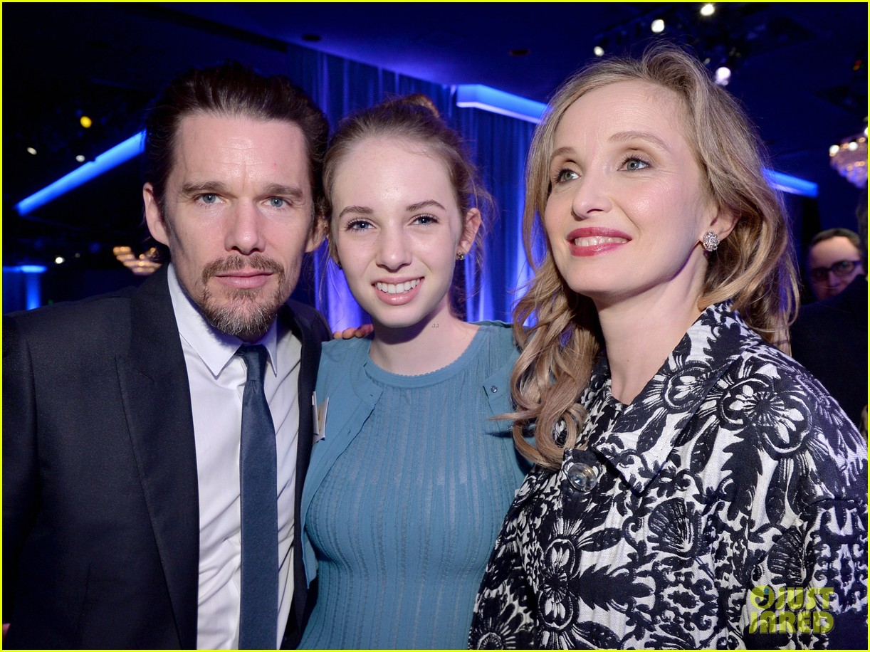 ethan hawke julie delpy oscars nominees luncheon 2014 08