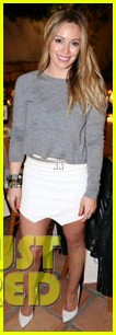 hilary duff how you glow event mike comrie parties in nyc 28