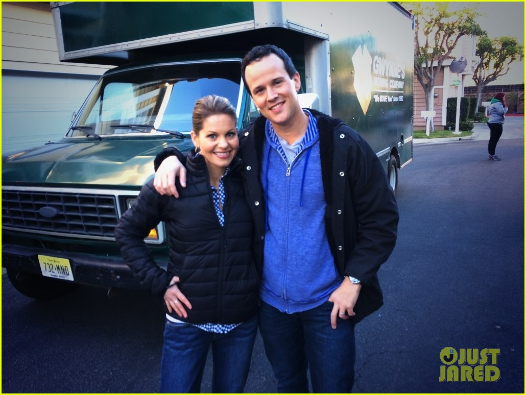 Candace Cameron and scott weinger