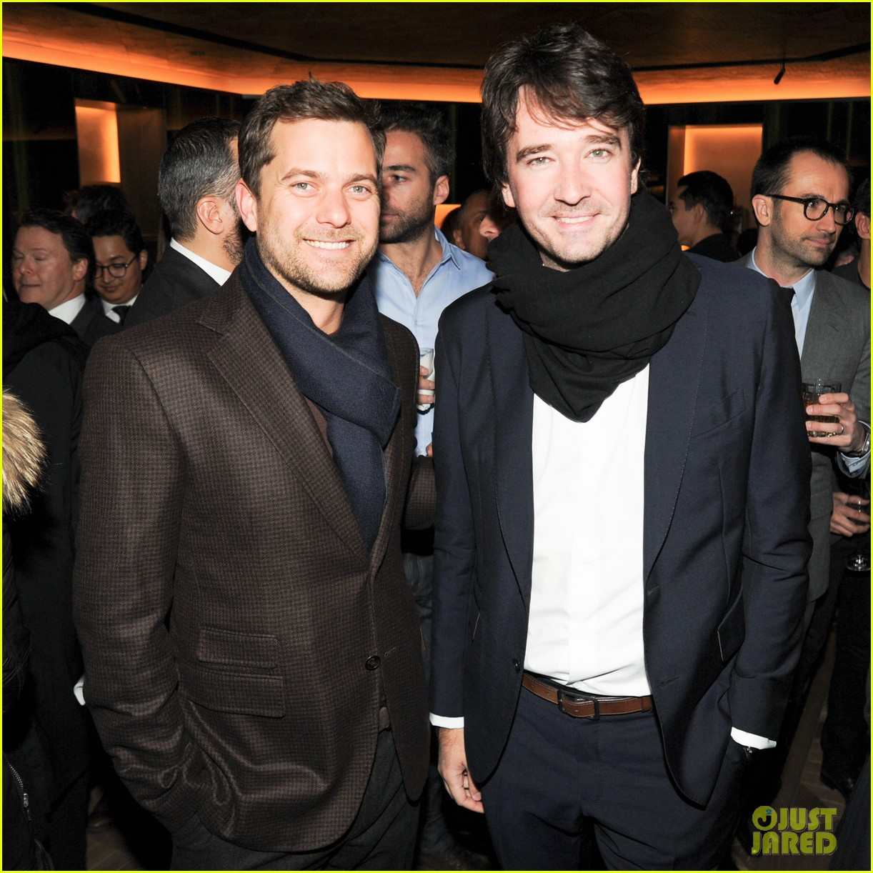 joshua jackson celebrates opening of berlutis first us store 103048993