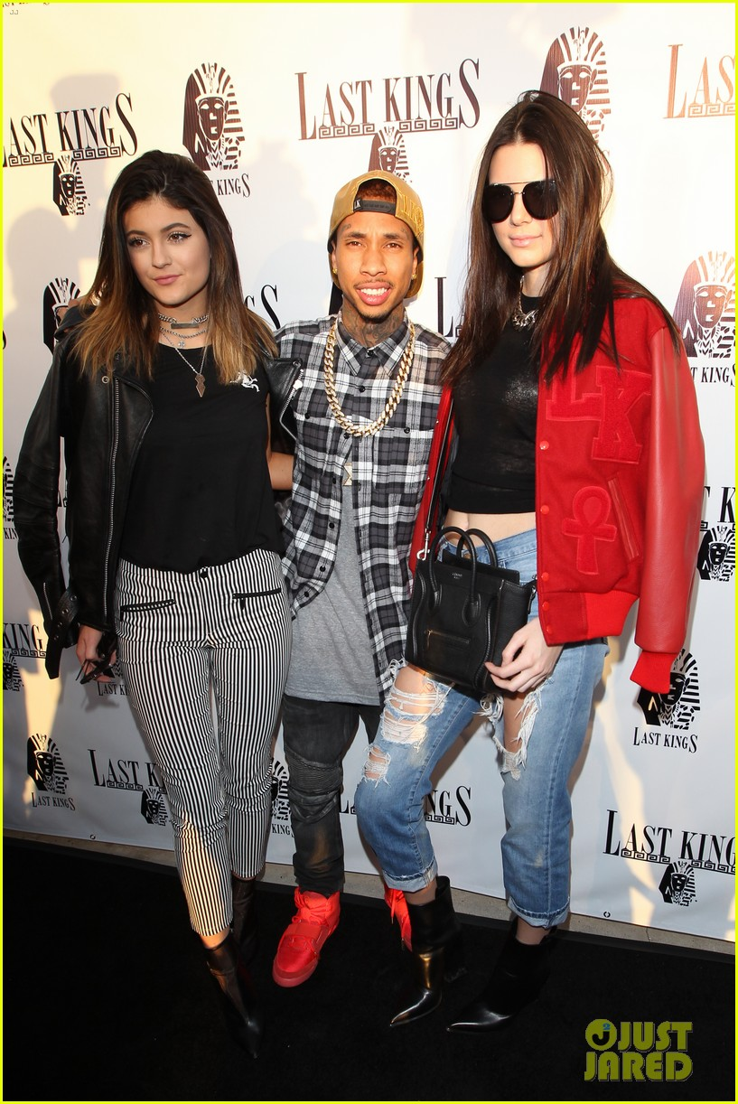 kendall kylie jenner tygas last kings store press preview 073057848